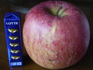りんごを安く食べられて、ブツブツ言っているのは私だけかもしれませんが・・・